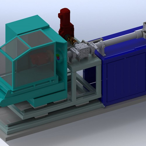 VRP Series Continuous Cold Feed Rubber Preformer